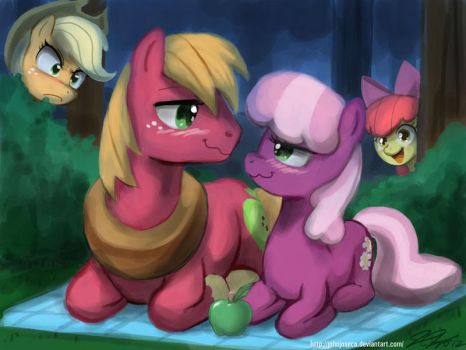Apple Hearts n Hooves by johnjoseco