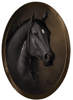 portrait of Chevy by AonikaArt
