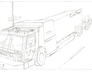On the road WIP by Tracksidegorilla1