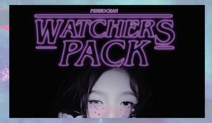 watchers pack! by pxnkocean
