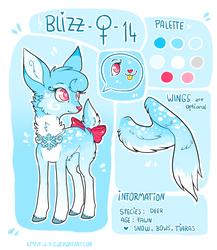 Blizz - Original character by Fayven
