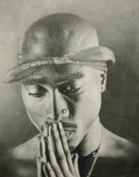 Tupac by Cutshaw1