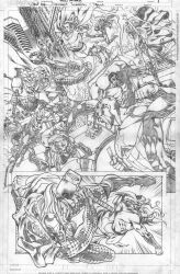 For Sale WHAT IF SECRET INVASION test page 17 x 11 by PowRodrix