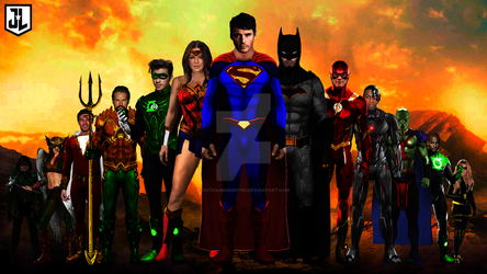 All New justice league by GOTHAMKNIGHT99