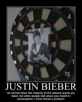 Justin Bieber -Demotivation- by Dragunov-EX