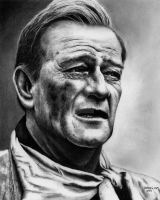 John Wayne - The Duke by Doctor-Pencil
