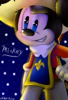 Musketeer Mickey by chiby-furry