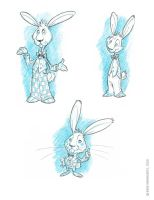 Easter Bunny Concepts 2 by RobbVision