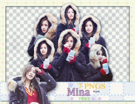 [ PACK RENDER #18 ] PACK RENDER MINA - TWICE by Risahhh