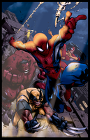 Avenging Spider-Man Promo By Mad! by tekitsune
