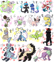PKMNation:: What Is This Like 5 [OPEN] by Nidobro