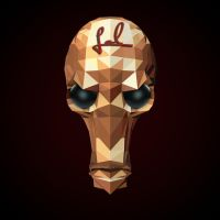 Golden skull by lolofson