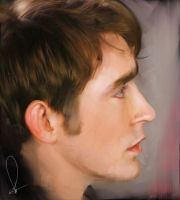 Lee Pace speedpaint by RobynTrower