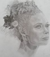Portrait of Maeve from Westworld by Roxyall
