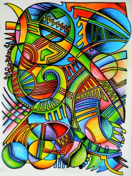 Colorful Chaos by lzoltick