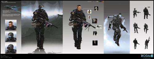 X-Com 2 character concept art by ArtemyMaslov