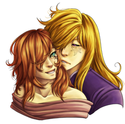 [Commission] Dazielle x Meres by SeraphicMayin