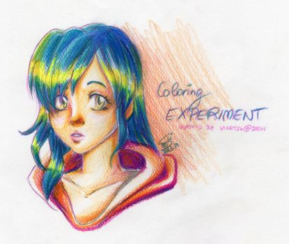 Coloring Experiment by susu-chan