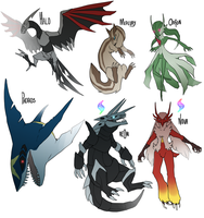 Trumpets blaring softly: ORAS team lineup by Zhoid