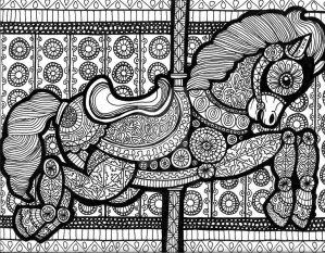 Lines of the Carousel (FOR SALE) by HGCreations