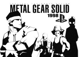 Metal Gear Solid 1998 by gilamasan