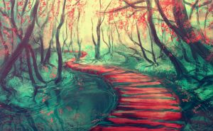 Path on the water by Reliah