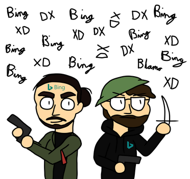Tom and Barry: Bing Brothers by AirwaveLOL