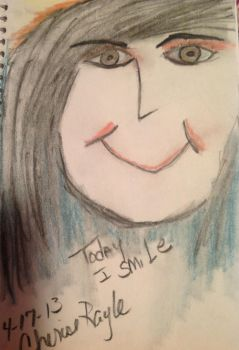 Today I Smile by Art-From-The-Id