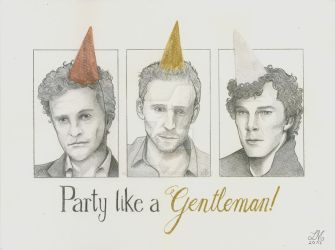 Party like a gentleman! by Mitternachtselbin