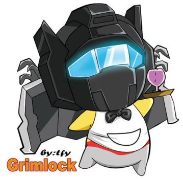 Transformers:G1-Grimlock by tfylulu