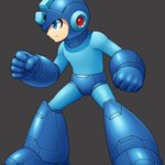 MegaMan_HD my style sprite by KO-KI