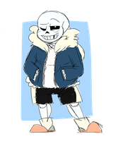 Long Time No See, Sans. by daddy-salty