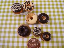 Chocolate Frosted Donuts by nyann