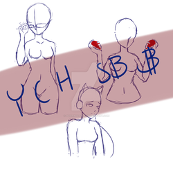 YCH Set Price 3$ [OPEN] by Adorkedable