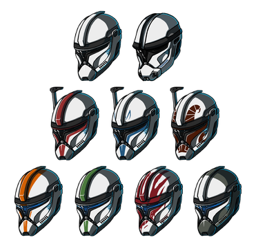 Clone Trooper Phase 1 - Star Wars meets Halo #3 by Mekrani