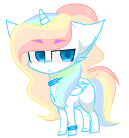 Chibi Cloudy-Risicpaint by DollPone