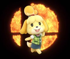 68 Isabelle Is At Your Service by SondowverDarKRose