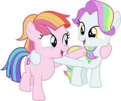 Coconut Cream and Toola Roola by CloudyGlow