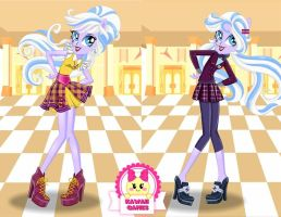 Sugarcoat School Spirit Style Dress Up by heglys