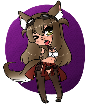 Chibi Lily -Contest 1/3- by SkullBooty