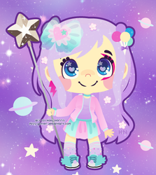c~Pastel Cubes by Miss-Glitter