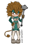 Sonic Fan Character - Ember by JuffyMeister