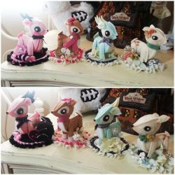 Cute Deer Fascinators by NoFlutter