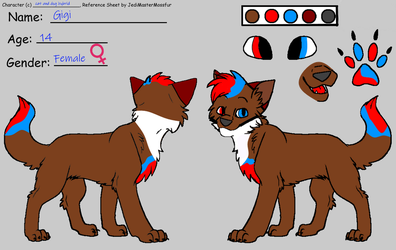 Gigis new ref Sheet by realgigigames