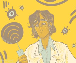 Carlos the Scientist by Simply-Psycho