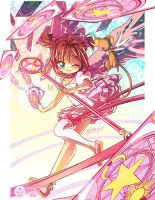 .: Card Captor Sakura :. Release! by Mako-Fufu