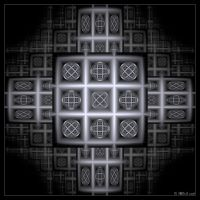 Fractal noughts and crosses by IDeviant
