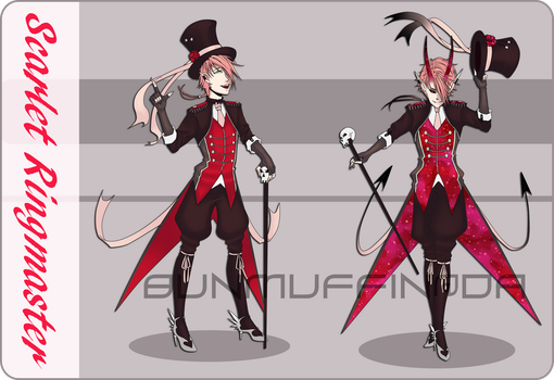 [CLOSED] Scarlet Ringmaster by BunMuffin