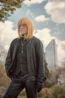 Death Note Mello :: Black Leather by Hirako-f-w