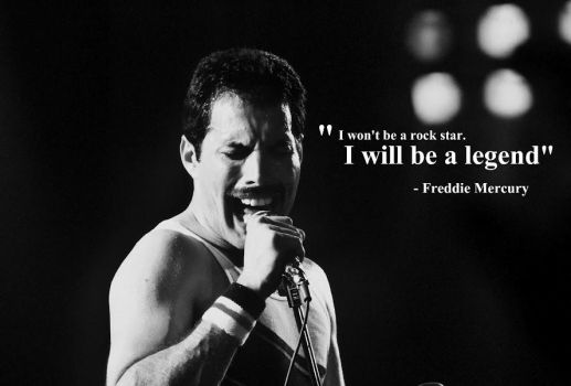 Freddie Mercury Quote by Guzinanda